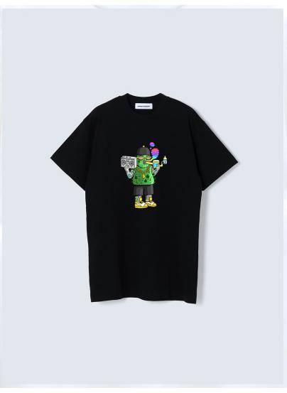 Camiseta Cogollito Negra