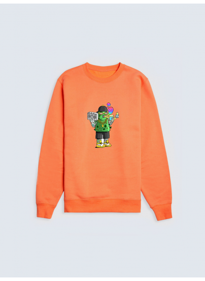 Orange Cogollito Sweatshirt