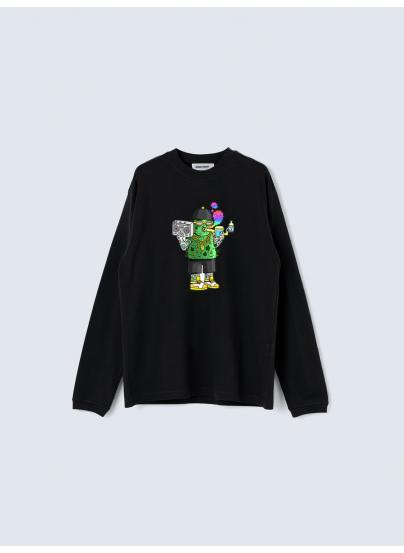 Cogollito Black Sweatshirt