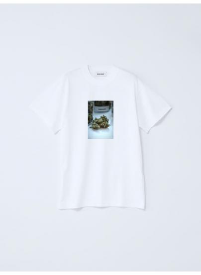 Weed Pixel White Tshirt