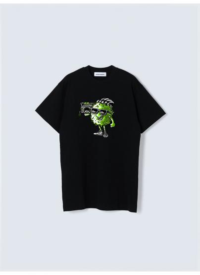 Camiseta Shinsiete Babie Negra