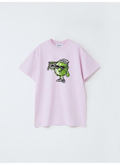 Camiseta Shinsiete Babie Rosa