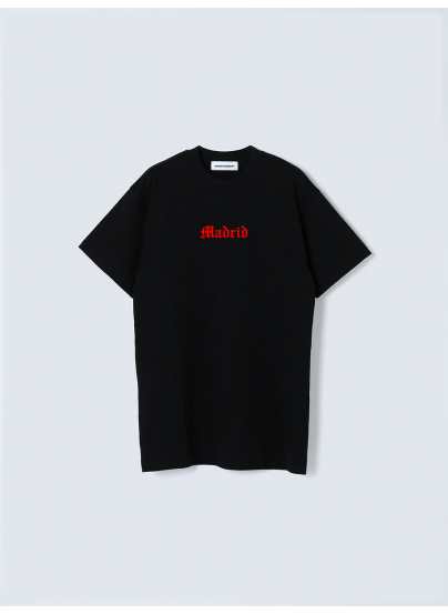 Madrid Black T-shirt