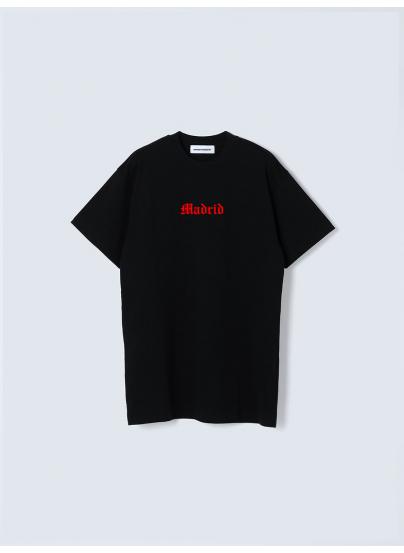 Madrid Black T-shirt