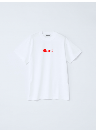 Madrid White T-shirt