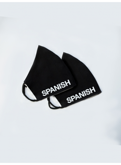 x2 Black Spanish Passion® Mask