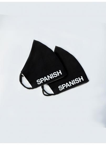 x2 Mascarilla Spanish...