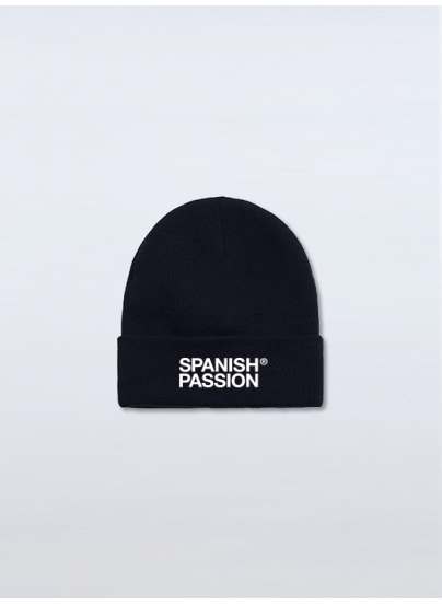 Black  Spanish Passion Beanie