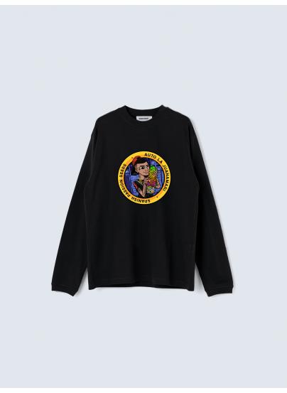 LA JUANAMARI Black Sweater